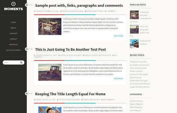 50 Best Free Responsive Blogger Templates 2019 Blogger