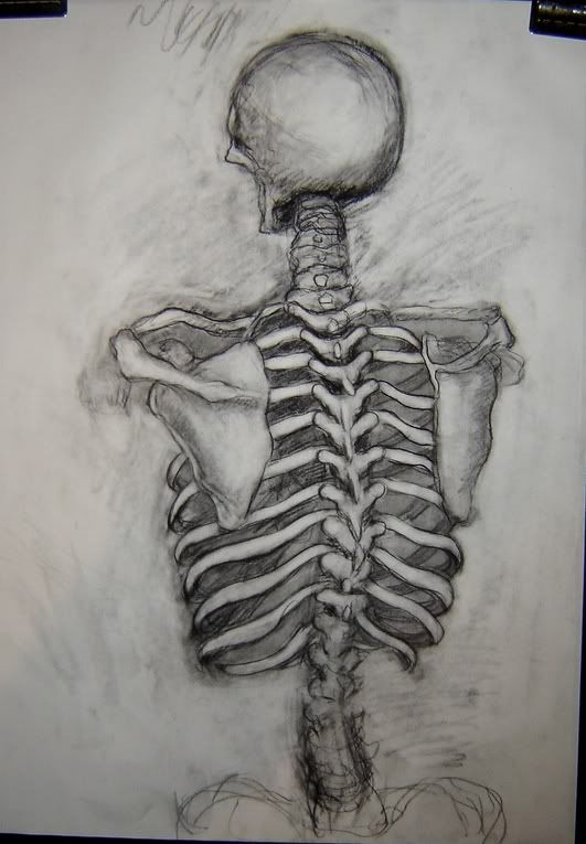 Check Out Art Critique Center With Images Skeleton Drawings