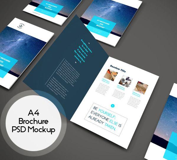 New Free Photoshop PSD Mockups for Designers (25 MockUps)   Letter ...
