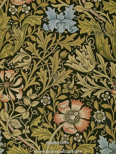 Compton Wallpaper By William Morris England 1896