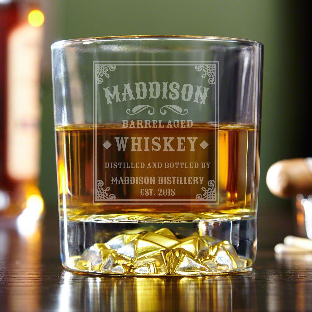 Stillhouse Personalized Whiskey Glass Personalized