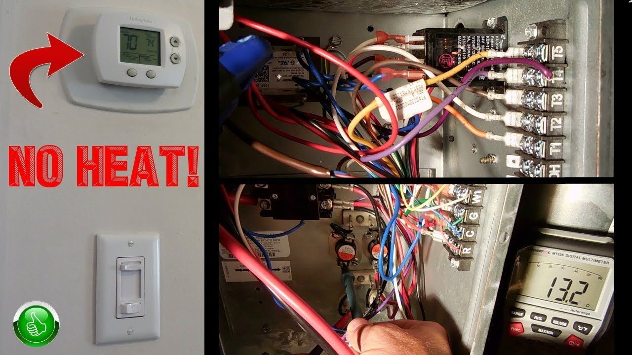 Troubleshooting Repairing Electric Central Heat Furnace Step By Step Youtube Central Heating System Heating Systems Central Heating