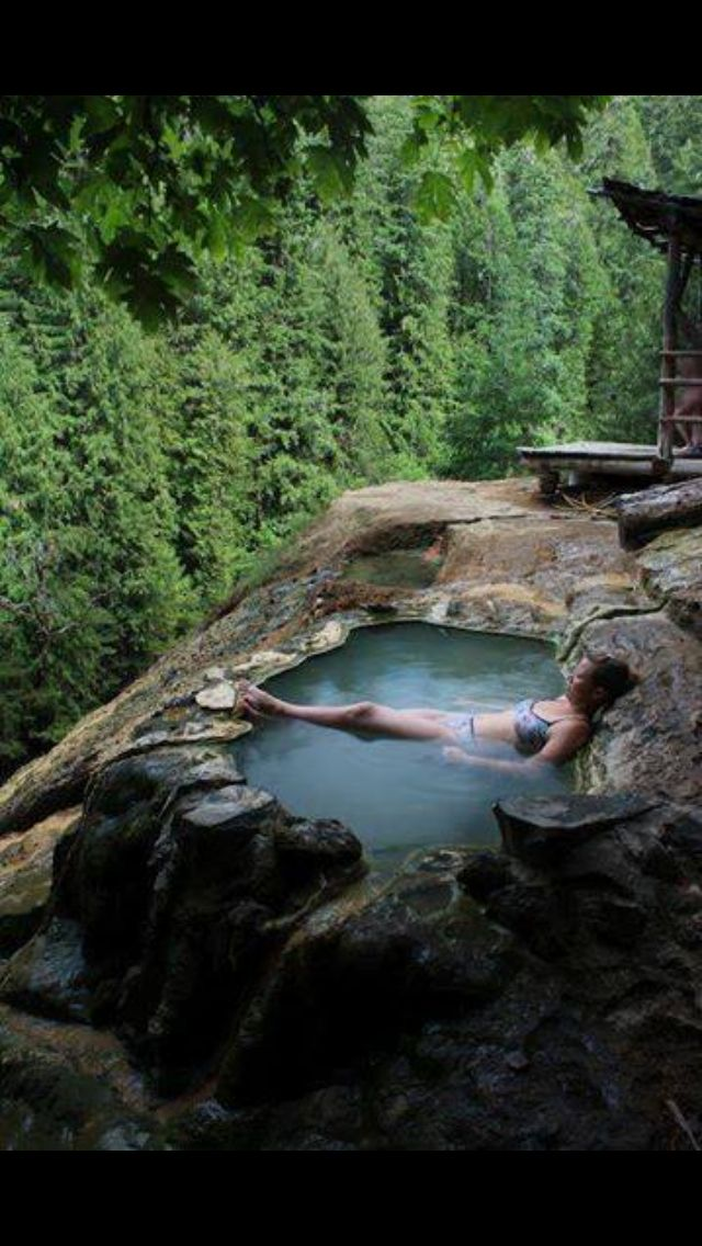 Umpqua hot spring, Oregon