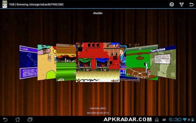 VGB - GameBoy (GBC) Emulator 4 0 APK Download Free
