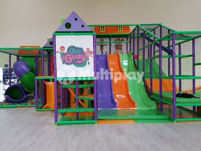Que Guay Park Valencia Spain Indoor Play Structure By