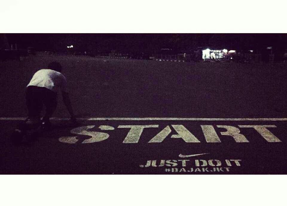 Start and just do it #BajakJKT