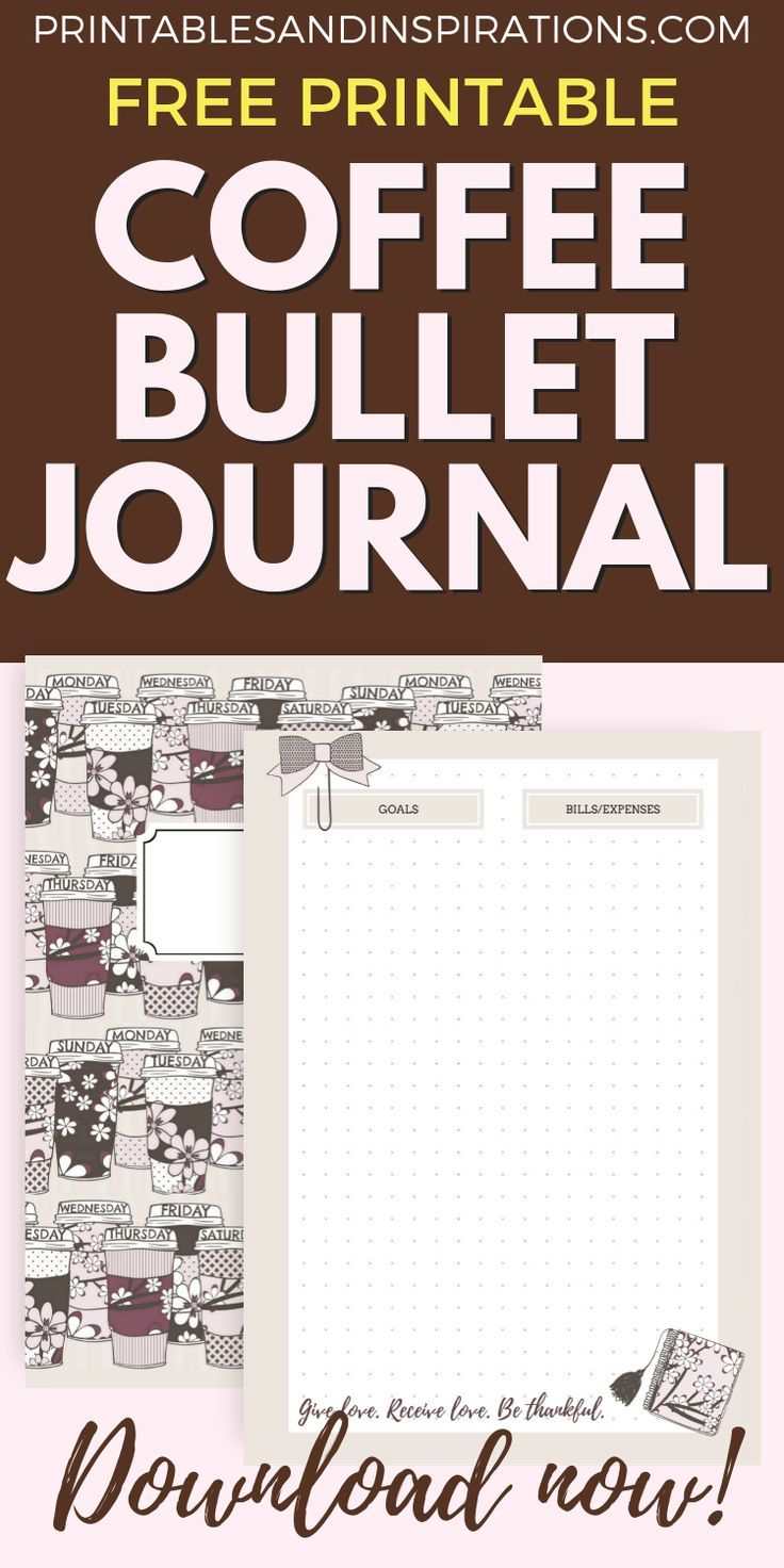 My Free Printable November Bullet Journal! - Printables and Inspirations