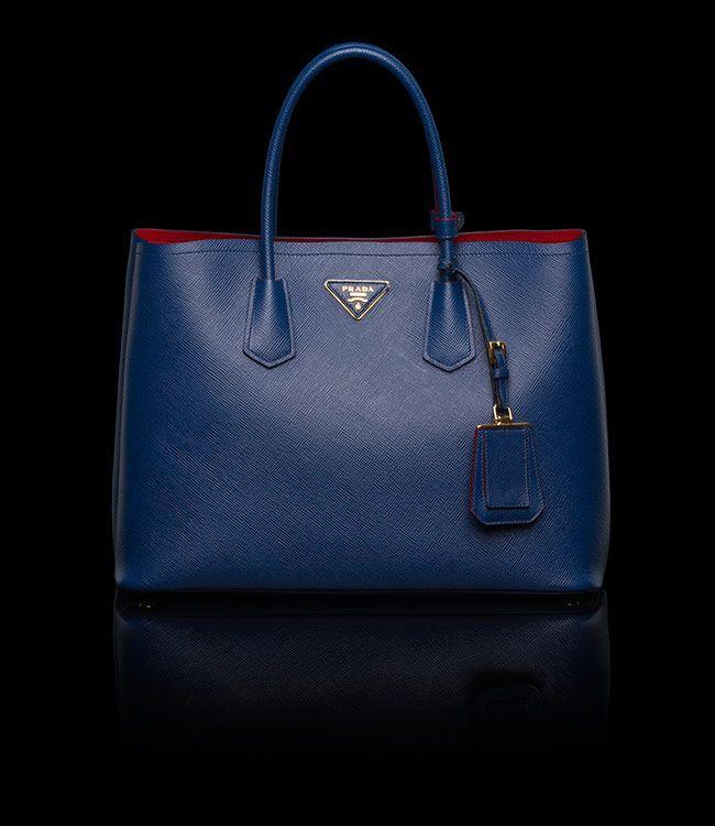 Prada Double Bag Cornflower Blue