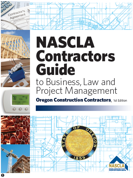 Business Law Publications Nascla National Association Of State Contractors Licensing Agencies Business Law Marketing Skills Contract Management
