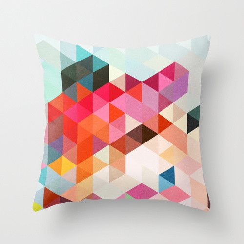 Heavy Words Cushion Cover With Images Geometric Throw Pillows Throw Pillows Geometric Throws
