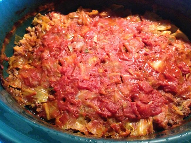 how to make lazy cabbage rolls with sauerkraut