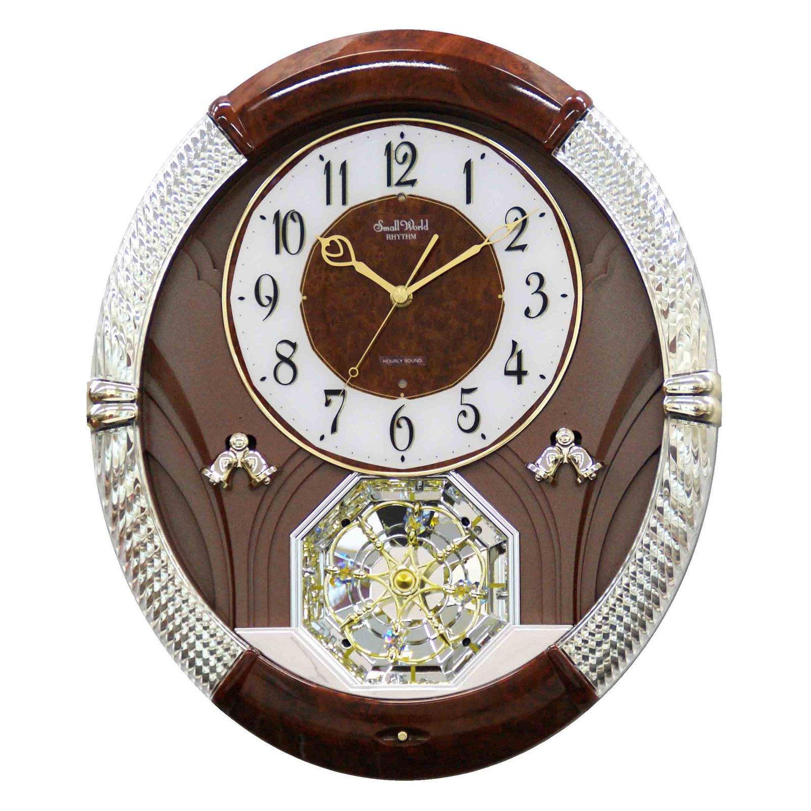 Rhythm Joyful Moment Wall Clock 14 6 In Wide Products