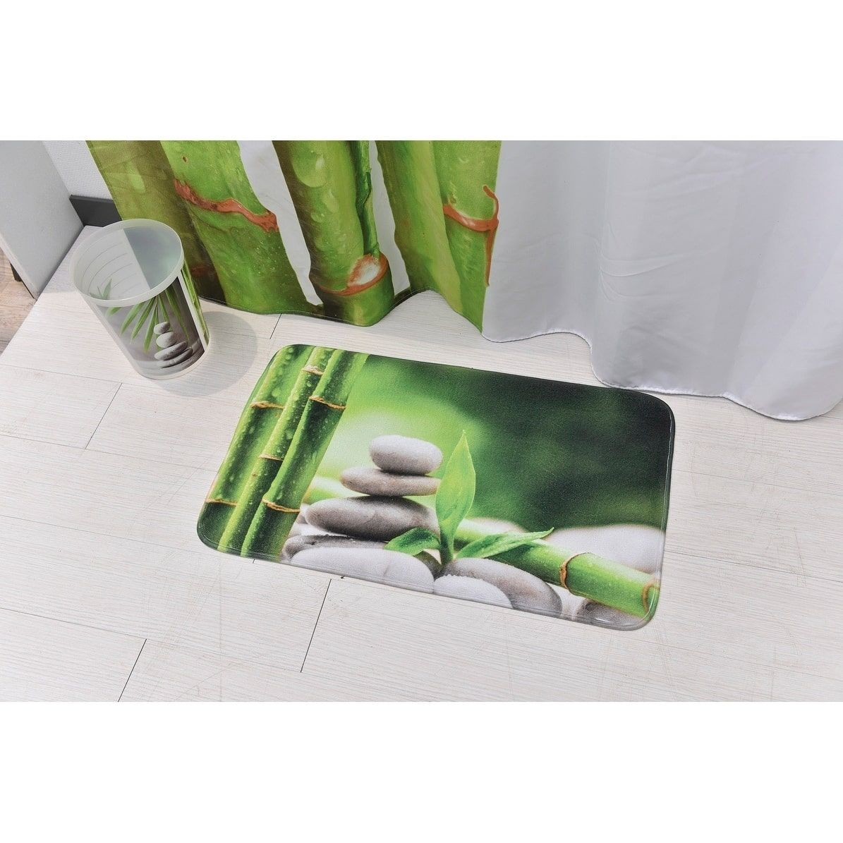 set paradise foam mat home amazon chesapeake com dp bath sage merchandising kitchen green mats memory s piece rug
