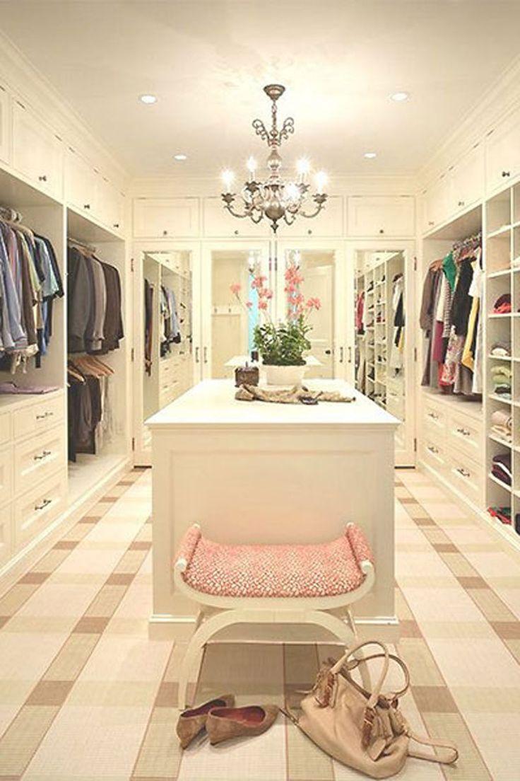 pretty best walk in closets. 13 Enviable Closets From Pinterest  Modern interiors Interiors