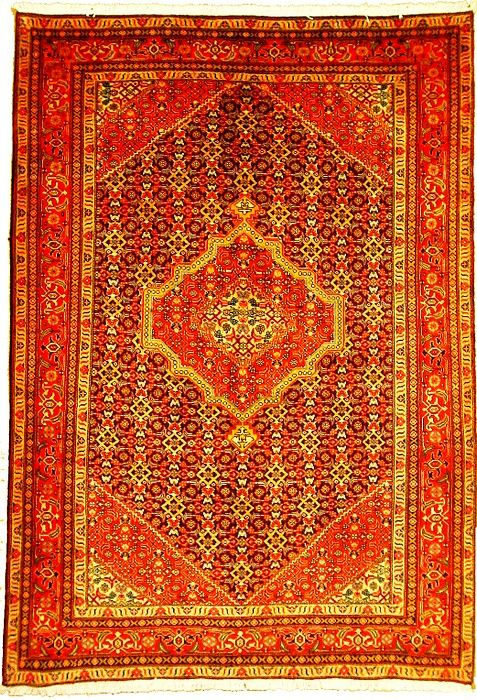 This Semi Antique Authentic Persian Tabriz Rug Is Hand Knotted Of 100 Natural Wool And Has 150 Knots Per Square Inch Rugs Tabriz Rug Persian Rug