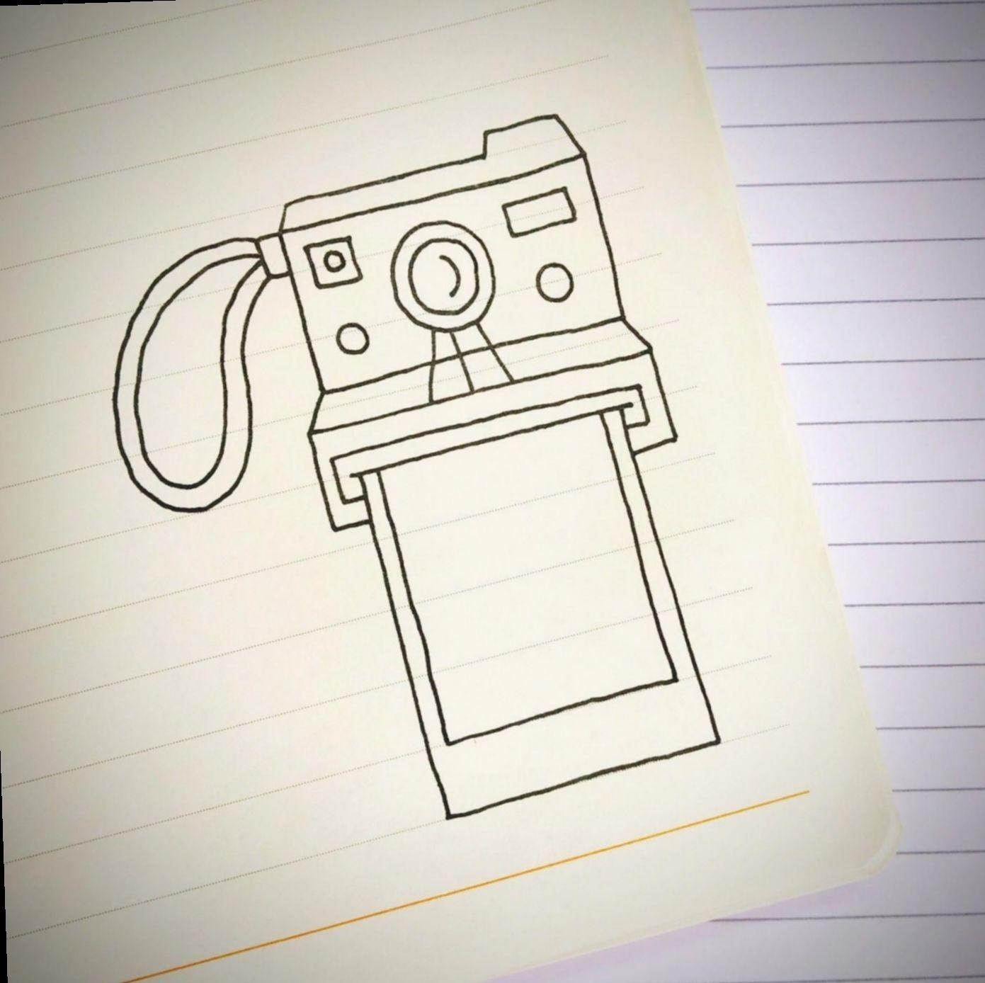 8 Cute Photos Ideas Polaroid Cameras Camera Doodle Cute Easy