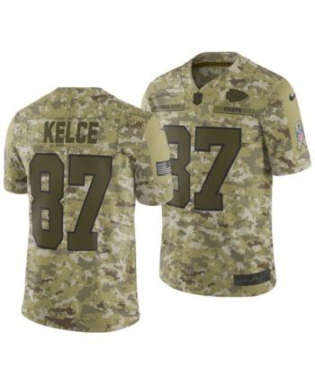 reputable site b2261 d8f15 Nike Men's Travis Kelce Kansas City Chiefs Salute To Service ...