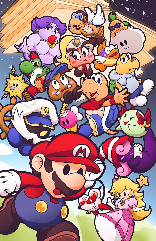Definitely In Top 3 Favorite Mario Games Paper Mario Thousand