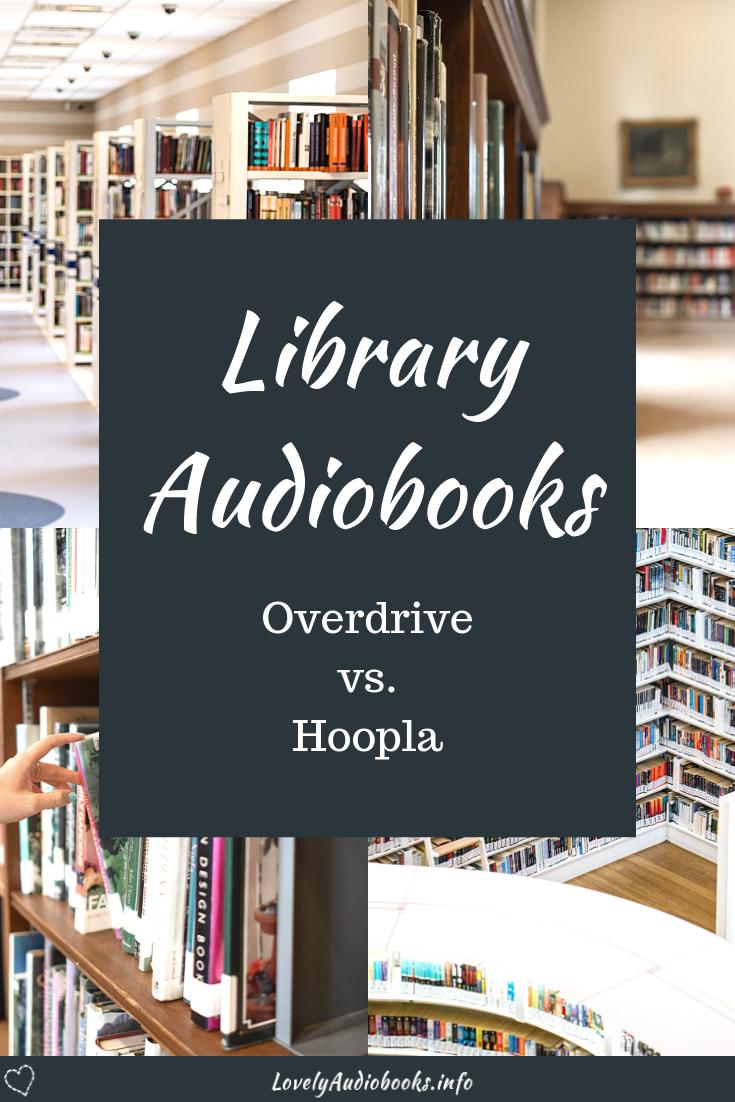 Library Audiobooks Overdrive vs Hoopla Inspirational