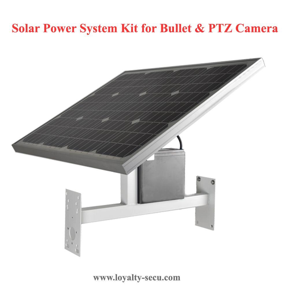 Solar Power System Kit For Any Kinds Of Bullet Ptz Cameras As There Are Many Clients In Need Of The So Ptz Camera Face Recognition Camera Solar Power System