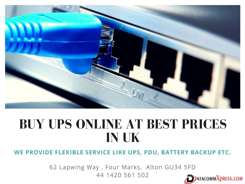Power Supplies UK online for uninterruptible power