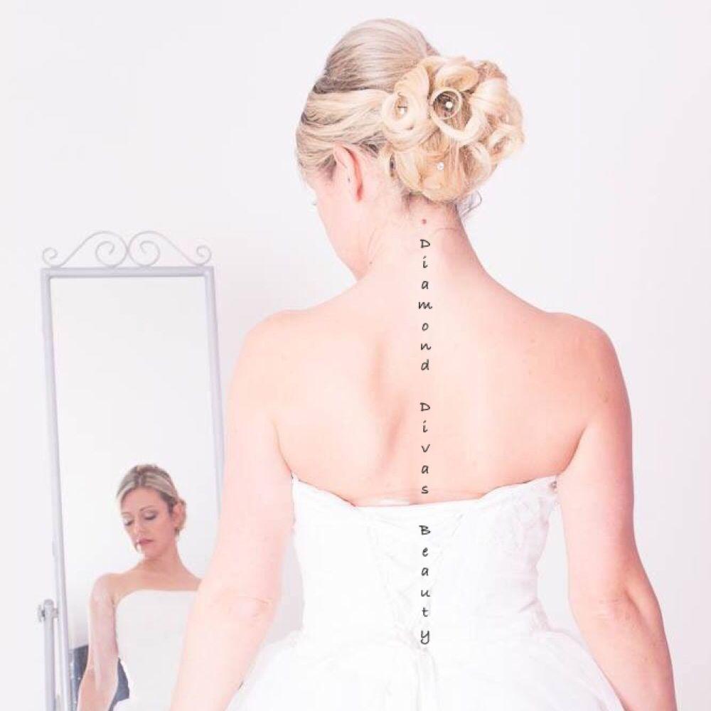 Bridal curly updo, big bridal chignon Updo, beautiful curly chignon ...