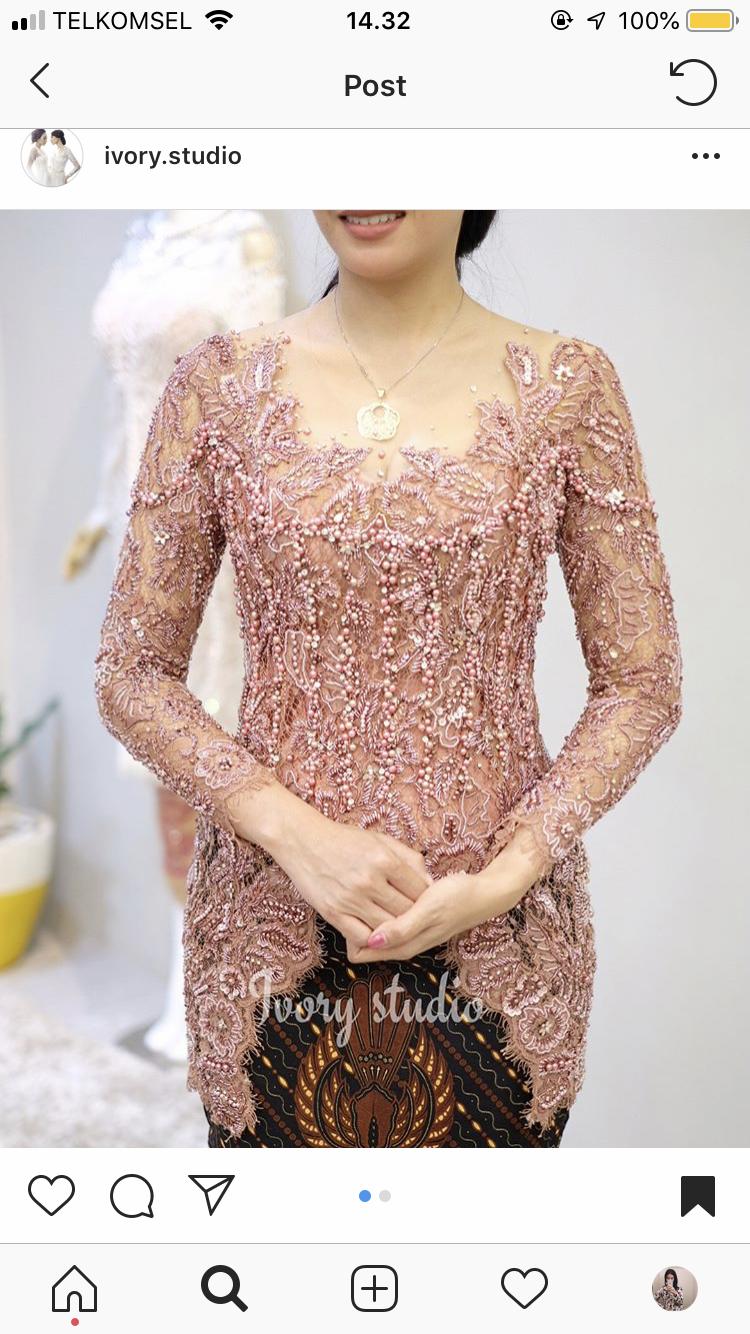 pin oleh alya khalishah di kebaya cantik | pakaian pesta