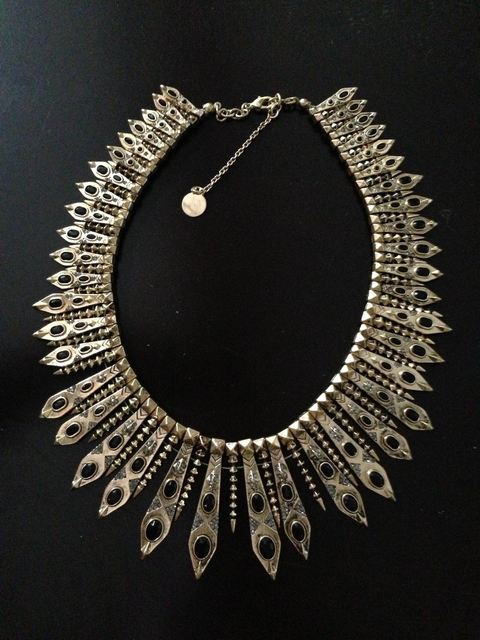House of Harlow necklace, 215$ from want boutique! Just bought today yay