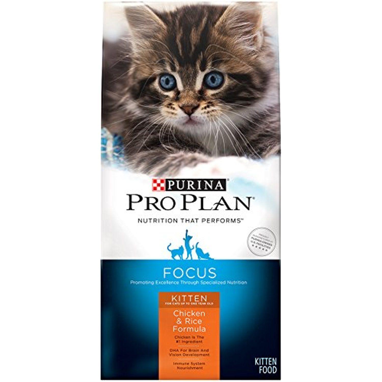 Purina Pro Plan Focus Kitten Chicken Cats Cheap Cat Food Kitten Food Purina Pro Plan