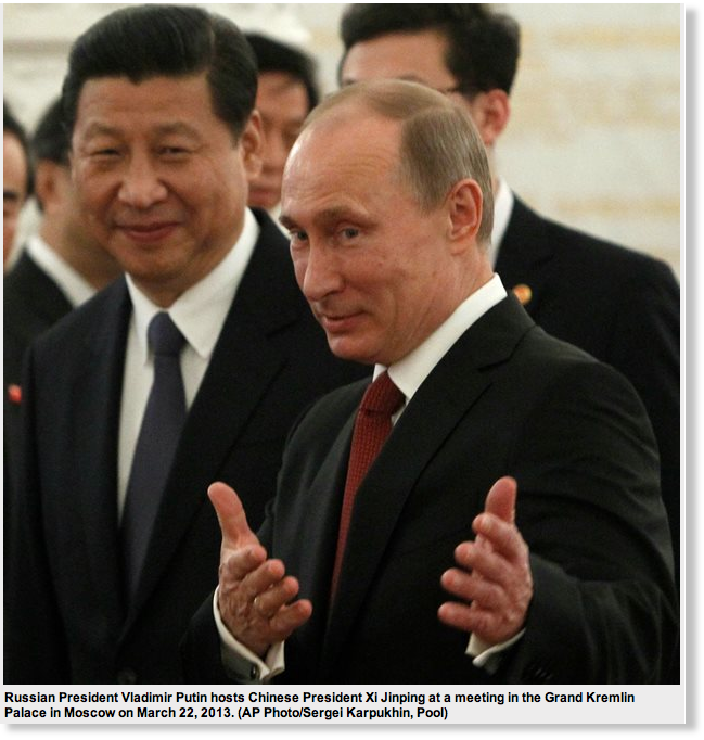 Western 'divide-and-conquer' tactics against Russia and China are failing miserably -- Puppet Masters -- http://www.sott.net/article/290558-Western-divide-and-conquer-tactics-against-Russia-and-China-are-failing-miserably