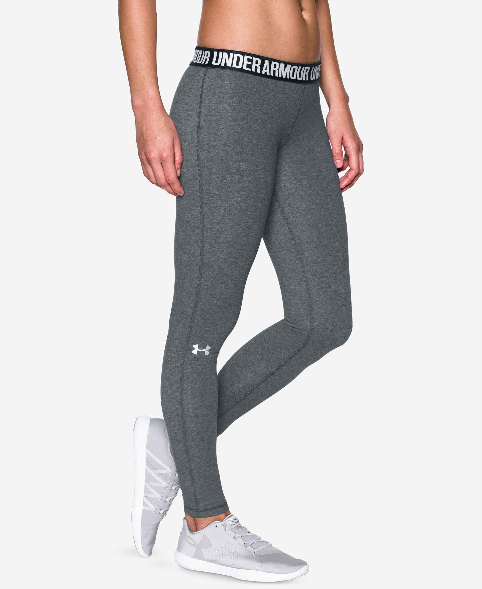 Women Yoga Sweat Pants Spandex Cotton Sports Fitness Capri Leggings Gray M