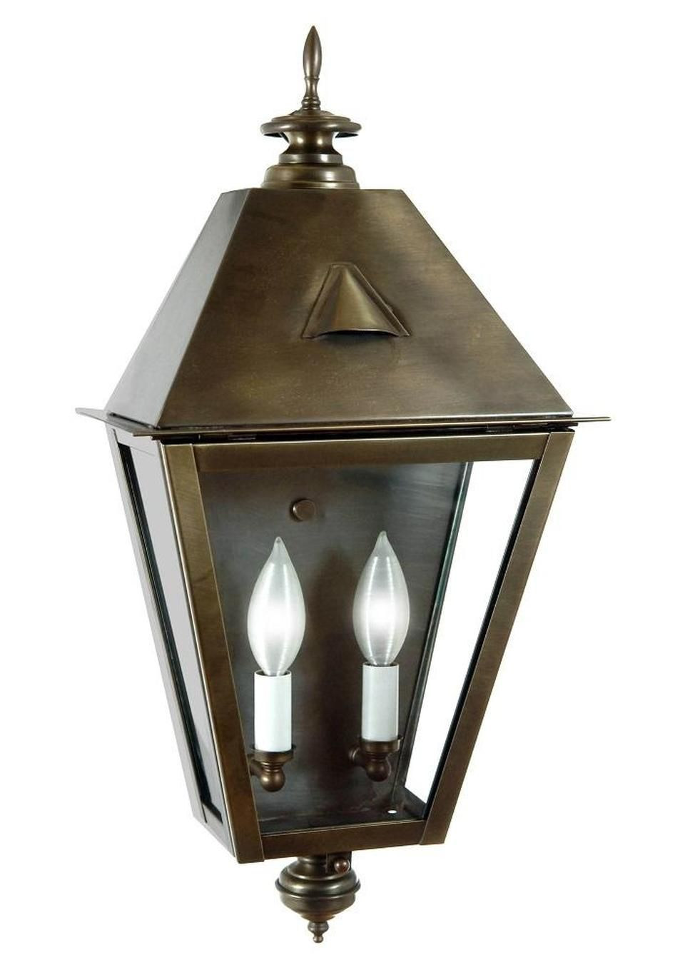 Fourteenth Colony Outdoor Lighting Country Manor Pocket Wall Lantern 2 Candle Bulbs 4221 H In 2020 Wall Lantern Steel Lighting Candle Bulbs