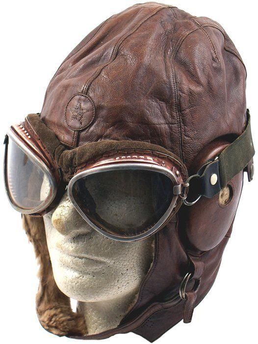 cb1155a72334 386  Japanese WWII pilot helmet on