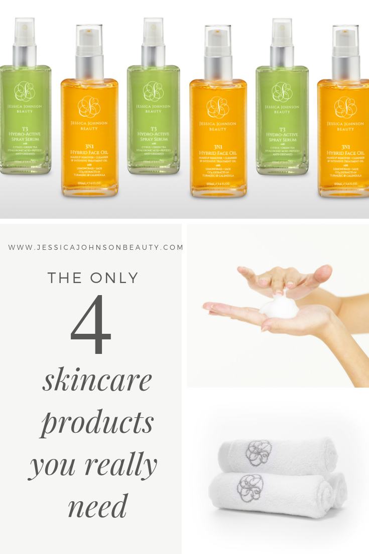 What Skincare Products Do I Really Need Jessica Johnson Beauty Skin Care Face Oil Skin Cleanser Products