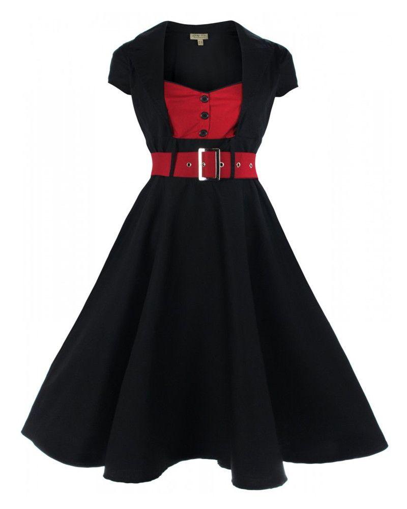 a388cb5d532 Fashion Bug Plus Size Vintage Retro Design Polka Dot Flare Party Dress  www.fashionbug.us