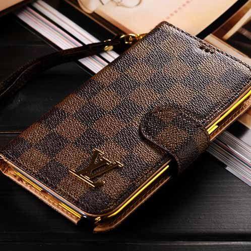 28fda1ad3aa Louis Vuitton Samsung Galaxy Note 3 Case Wallet Monogram Brown ...