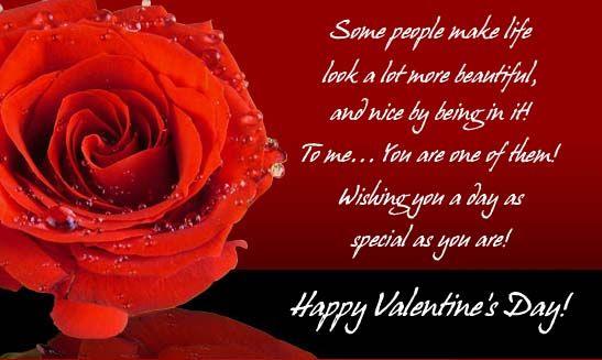 nice valentine's day card from my mom  happy valentine
