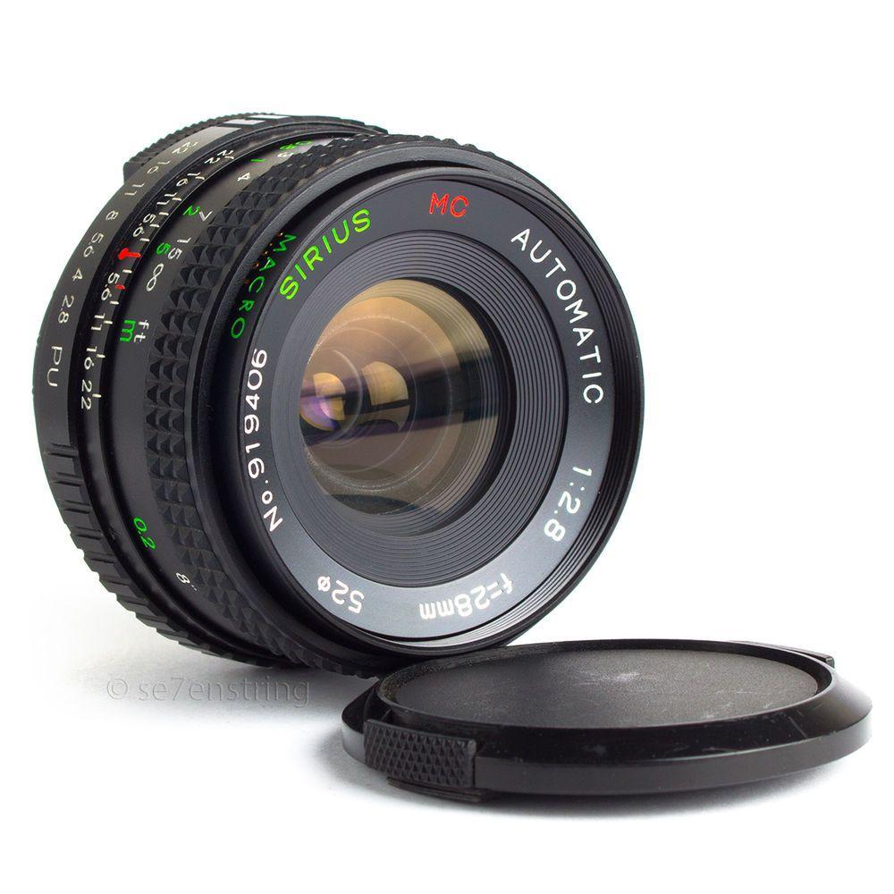 Sirius 28mm F2 8 Wide Angle Macro Lens Pentax M42 Dslr Adaptable Eos Mft Macro Lens Wide Angle Dslr