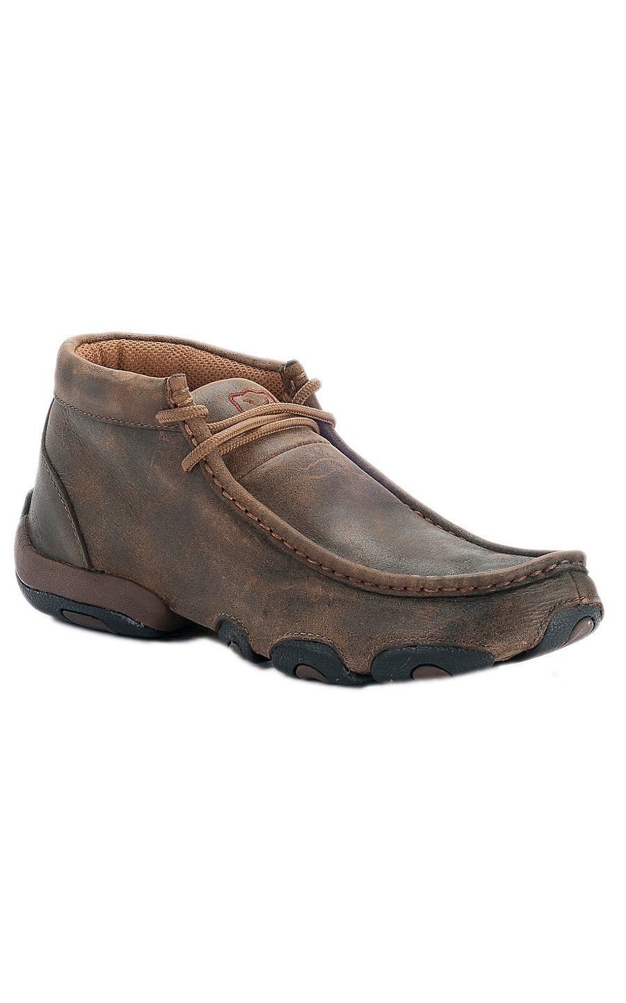 c2c95651902 Twisted X Ladies Bomber Brown Driving Moccasin Casual Shoe | Shoes ...