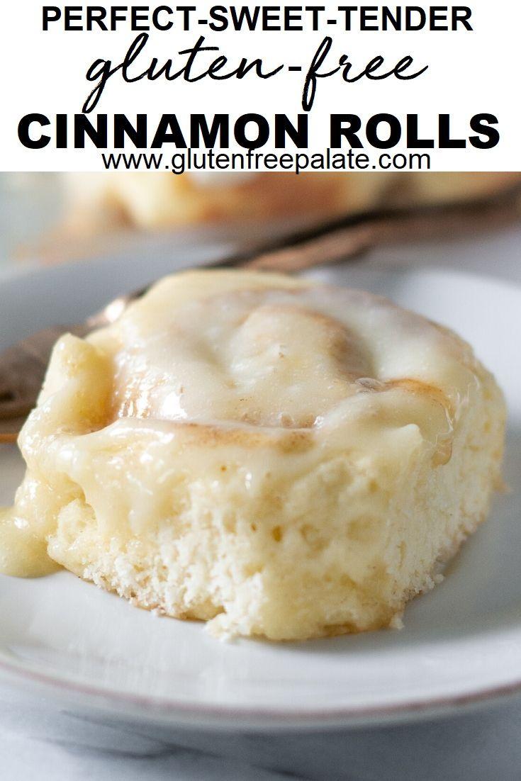 Fluffy Gluten Free Cinnamon Rolls #glutenfreebreakfasts