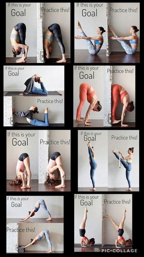 Yoga, wenn dies dein Ziel ist, übe dies