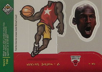 #Jordan 1998 #upper deck ud choice #bobble head trivia time #30 nba basketball ca,  View more on the LINK: 	http://www.zeppy.io/product/gb/2/171942872891/