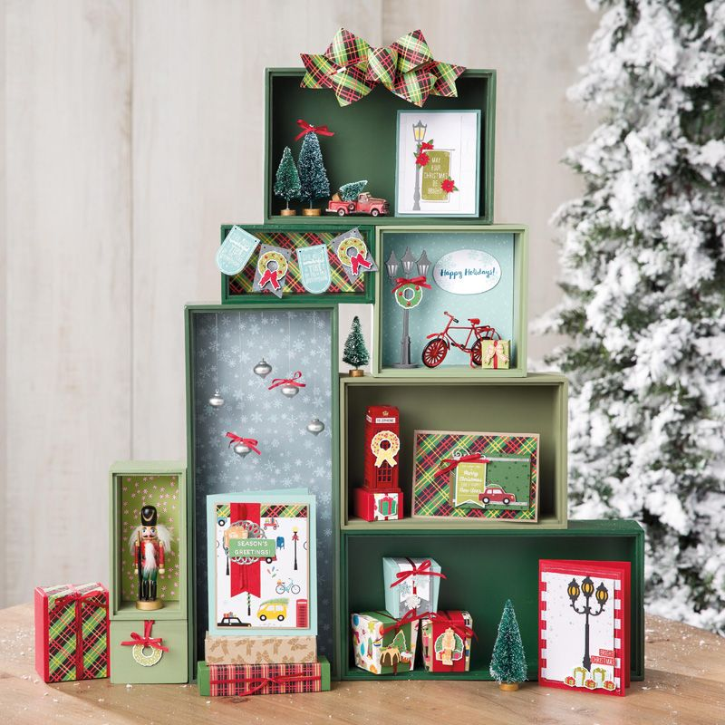Christmas Around the World Designer Series Paper by
