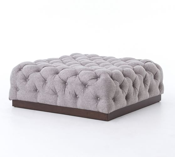 Cecil Tufted Ottoman In 2020 Tufted Ottoman Cocktail