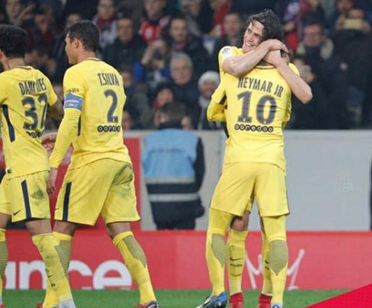Lille vs PSG All Goals