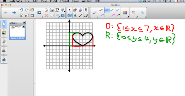 Domain And Range Lesson Teaching Algebra Lesson Functions Algebra