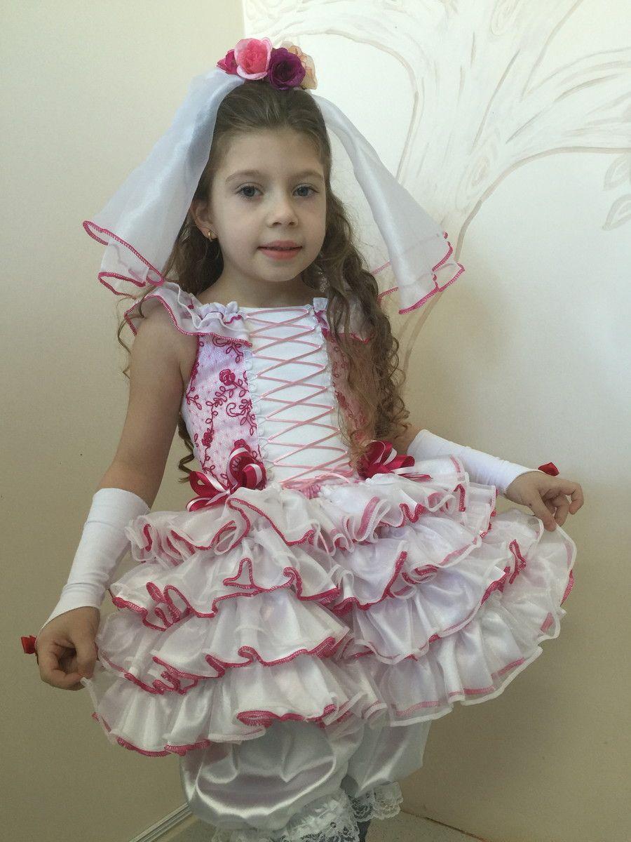 Vestido Noiva Caipira Super Lindo Para Festas Juninas E A Fantasia
