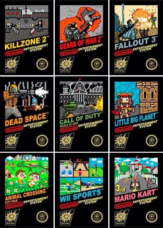 Modern Games Remained As Retro Nes Have Cartridges Nintendo Retro