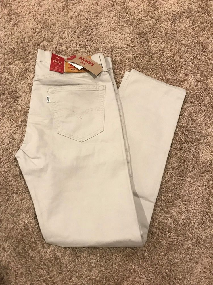 80599447 NWT MEN'S LEVI'S 502 REGULAR TAPER FIT STRETCH JEANS MOONSTRUCK 36X32  MSRP$59.5 #fashion #clothing #shoes #accessories #mensclothing #jeans (ebay  link)