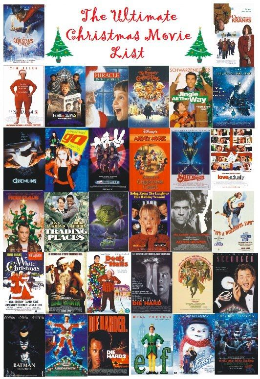 List of Christmas movies animated, classics, comedies